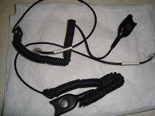 Câble Sennheiser CSTD 01 neufs