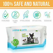 Pet Dog Wipes Cat Bathing Grooming Cleaning Deodorizing Puppy Wipe 100Count/pack