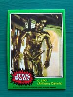 "1977 Topps Star Wars C-3PO C3PO ""Golden Rod"" Iconic Error REPRINT Card #207"