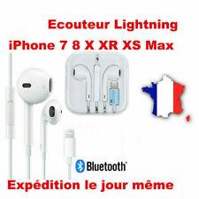 Ecouteurs pour iPhone 7 7Plus 8 X avec micro fonction avec bluetooth +pop-ups