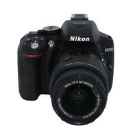 Nikon D5300 24.2 MP Digital Camera W/ AF-P 18-55mm VR Lens (Black) -TOP VALUE!