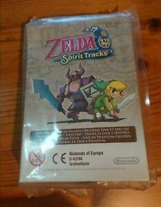 Brand New Sealed Zelda Spirit Tracks Special Edition Figurines Nintendo Rare