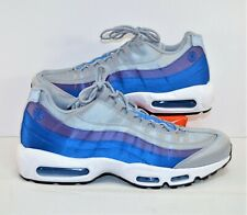 Nike Air Max 95 SE Pinwheel Blue Purple Grey Running Shoes Sz 12 NEW AJ2018 001