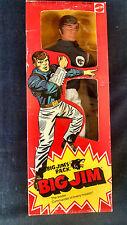 "MISB 1975 Mattel Big Jim's P.A.C.K. Wolf Pack Commander Jim  Leader 10"" Figure"