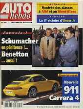 AUTO HEBDO n°948 du 7 Septembre 1994 1000km SUZUKA PORSCHE 911 CARRERA 4