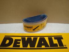 10 X DEWALT DT3666 64MM X 356MM SANDER SANDING BELTS 60GRIT D26480