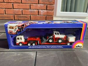 Siku 3811 Man Lorry With Trailer And Bulldozer In Its Original Box -Mint Ex Shop