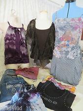 CLOTHING LOT Machine Earl Skinny Minnie BEBE Isa Rodriguez Jeans Skirts Tops