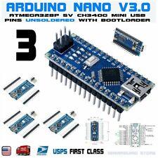 3pcs ATmega328PB Compatible Board Mini USB Unsoldered for Arduino V3.0 V3 USA