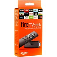 Amazon Fire TV Stick with Alexa Voice Remote Streaming Media Player Game TV NEW