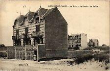 CPA MERLIMONT-PLAGE La Brise - Le Houle - La Rafale (405477)