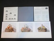 Dempsey Essick print set of 3 Bonny Baskets signed and numbered 519/999 COA