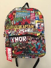 """SPIDERMAN SUPER HEROES MARVEL- BACKPACK 16""""- BRAN NEW WITH TAGS- FAST SHIPPING"""