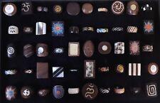 50 PCS Wholesale Jewellery Mixed Natural Handmade Wood Bone Fashion Ring Lot 72