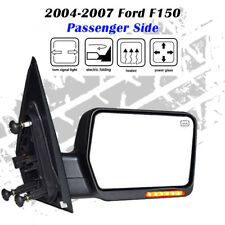 Fit 2004-2007 FORD F-150(RH)POWER+HEAT+TURN SIGNAL TOWING SIDE VIEW MIRROR