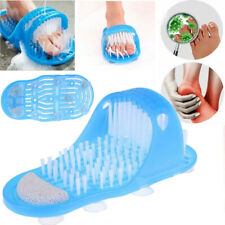 Bath Shower Foot Brush Foot Cleaning Slipper Exfoliating Bath Scrubber Brushes