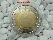 *** 2 Euro Gedenkmünze LUXEMBURG 2009 10 Jahre Währungsunion Münze Coin KMS ***