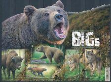 [BEL117] Belgium 2020 Europa Big 5 Fauna good sheet very fine MNH