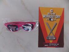All Star 2016 MLB Home Run Derby T-Mobile Glasses And Bracket Sheet - Stanton