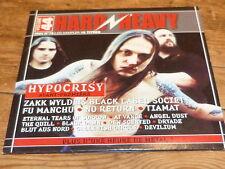 Various – HARD & HEAVY 44 - HYPOCRISY !!!!! !!!!!!!!!!!! ! RARE CD FRANCE