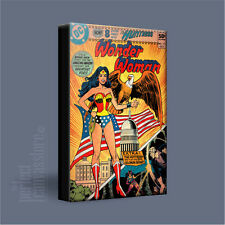 WONDER WOMAN COMIC COVERS SERIES STUNNING ICONIC CANVAS ART PRINT Art Williams