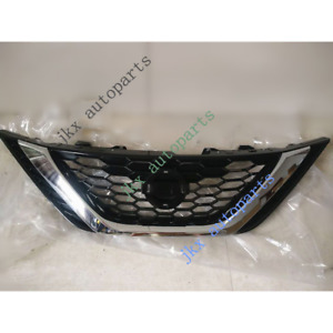 ABS Front Bumper Middle Vent Hood Grille k Grill Fit For Nissan Sentra 2016-2019