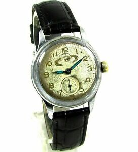 Wostok Saturn Vostok Mens Wrist Watch 17 jewels Original Rare USSR Serviced