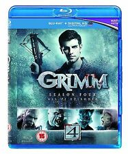 Grimm Complete Series 4 Blu Ray All Episode Fourth Grim Season Original UK Rel