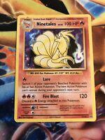 Pokemon XY Evolutions Holo Ninetales 11/108 Pack Fresh | 1 card