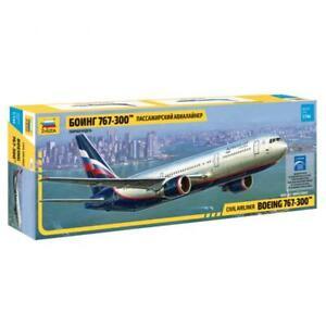 Zvezda 7005 Boeing 767-300 Civil Airliner Model Kit 1/144
