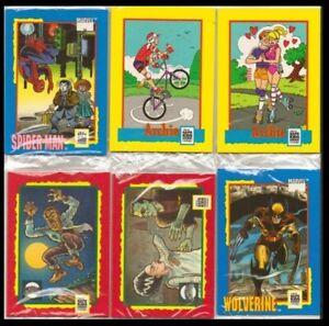 1991 NATIONAL SAFE KIDS CAMPAIGN TRADING CARD TREATS SEALED CARD SETS (12 PKS)