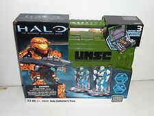 halo mega bloks 29699 collector's case new sealed rare set