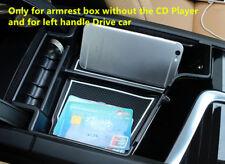 For Volvo XC60 2018 / XC90 15-18 Black Accessories Armrest Storage organizer Box