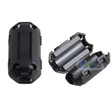 1pc New Black 70B Anti-noise EMI/RFI Suppressor Filter Ferrite Ring Core Snap-on