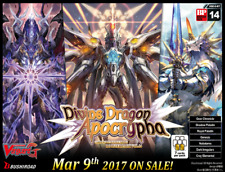 Cardfight Vanguard TCG Sealed Collectible Card Game Booster Packs