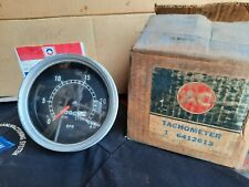 GM AC Delco GMC Chevy Tractor Aviation Tachometer 6412613 Tach Military RPM Dial