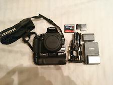 Canon EOS 400D Body mit Batteriegriff