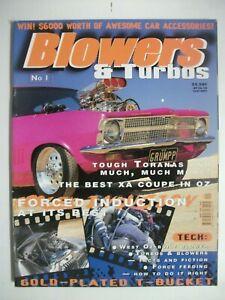 BLOWERS & TURBOS MAGAZINE ISSUE NO 1
