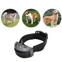 Top New Anti No Bark Shock Dog Trainer Stop Barking Pet Training Control Collar