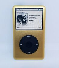 Apple iPod Classic THIN 7th Gen Custom GOLD refurbished  160 GB NEW BATTERY !