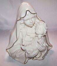 "Jubilation Mary With Child Baby Jesus Porcelain Figurine 8"" Roman 46426"