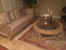 *Moving Sale Forced to Sell* Luxurious Love Seat/Sofa with Two Coffee Tables