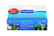 King British and quot, Just Fix It and quot, Pond and Aquarium Repair Kit