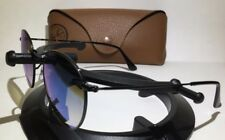 RAY-BAN RB3447 002/4O BLACK / BLUE GRADIENT FLASH SUNGLASSES W/CASE - 50-21-145