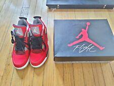 Air Jordan 4 Retro Toro Bravo Red Size 10