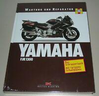 Reparaturanleitung Yamaha FJR 1300 A AS Wartung + Reparatur Buch NEU!