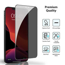 For Apple iPhone 12 Pro Max mini Privacy Full Tempered Glass Screen Protector