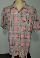 Patagonia Mens Short Sleeve A/C Button Down Shirt XL 52921 Multicolored Plaid