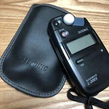 Usato L-308S Sekonic Esposizione Misuratore Luce Con Istruzioni F/S Da Giappone