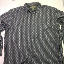 George Foreman Signature Collection Button Up Shirt Mens 4XL Tall